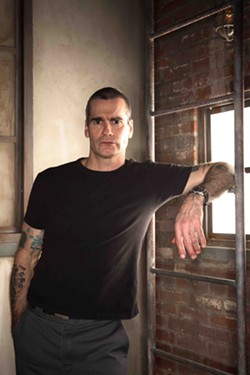 WORD UP :  Former Black Flag frontman and actor Henry Rollins will appear at Downtown Brew in his incarnation as a spoken word artist on June 6. - PHOTO COURTESY OF HENRY ROLLINS
