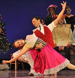 THE TOYS WILL TALK:  Attendees of Ballet Theatre San Luis Obispo's  La Boutique Fantasque (The Magic Toy Shop) will also be treated to a performance of Les Patineurs - (The Skaters), a dance set on an ice skating rink on Christmas Eve. - PHOTO COURTESEY OF BALLET THEATRE SAN LUIS OBISPO