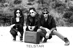 ALL STARS :  Comprised of members of the Mars Volta and Butch Walker and the Black Widows comes Telstar, playing Nov. 19 at Frog and Peach. - PHOTO COURTESY OF TELSTAR