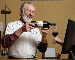 TOP FUEL :  Vintner Don Peters produces such acclaimed, auto-themed reds as Corvette Cabernet and Multi Viscosity. - PHOTO BY STEVE E. MILLER