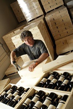 CRAZY BLENDS:  French-born winemaker Stephan Asseo is known for his unusual and elegant wines. - PHOTO BY STEVE E. MILLER