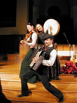 REEL GOOD :  Golden Bough plays tender ballads, lively jigs, reels, and sing-a-longs on Dec. 3 in the Coalesce Bookstore. - PHOTO COURTESY OF GOLDEN BOUGH