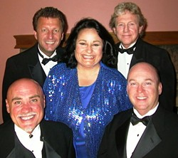 THEIR WAY :  Member of the cast of Franks & Deans, a cabaret-style tribute to the music and style of Frank Sinatra and Dean Martin, perform June 6 at The Grange Hall. - PHOTO COURTESY OF FRANKS AND DEANS