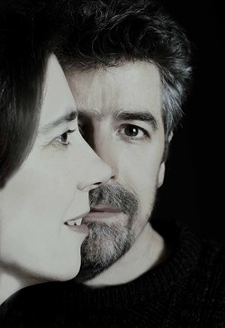 TWO IS ALL YOU NEED:  Awesome Texas duo Markley and Balmer plays Dec. 20 at Kreuzberg. - PHOTO COURTESY OF MARKLEY & BALMER