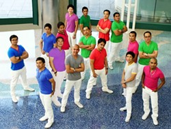 'A VERY CLANDESTINE OPERATION':  Members of the all-male, all-Filipino a cappella group Prime Note Ensemble covertly formed the group as overseas foreign workers in Saudi Arabia.