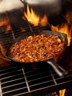EAT UP! :  You're the judge when almost a dozen restaurants compete in a chili cook off this Friday, May 28. Buy tastes, cast your votes! - FILE PHOTO