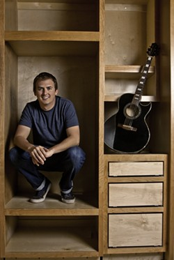 SONGWRITER :  Grover Anderson—who's written songs for Dhani Harrison, Tristan Prettyman, Bushwalla, Jay Nash, Joey Ryan, and Trevor Hall—plays two shows—Jan. 10 at the SLO Down Pub and Jan. 13 at Sculpterra Winery. - PHOTO COURTESY OF GROVER ANDERSON