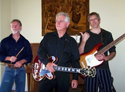 WIDE AWAKE BLUES :  The Sleepy Guitar Johnson Trio plays tunes from a brand-new recording at a CD release party on Saturday, Sept. 13 at Hoover's in Atascadero and Sunday, Sept. 14 at Castoro Cellars on Hwy. 46 West. - PHOTO COURTESY OF SLEEPY GUITAR JOHNSON