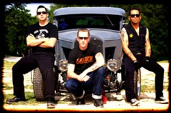 DANGEROUS ROCK'N'ROLL :  The Chop Tops explode onto the Downtown Brew stage on May 27! - PHOTO COURTESY OF THE CHOP TOPS