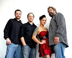 MINKA SANDWICH :  Head to Frog and Peach on Jan. 7 to see Minka (pictured) sandwiched between two Soundhouse sets. - PHOTO BY RON WILLIAMS