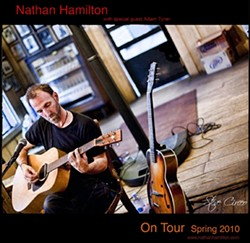 SEVEN-YEAR ITCH :  After a seven-year hiatus from touring the Central Coast, Nathan Hamilton headlines the next Songwriters At Play showcase on May 4 at the Steynberg Gallery. - PHOTO COURTESY OF NATHAN HAMILITON