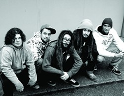 NORTHERN REGGAE :  High-energy reggae from Oregon is headed our way when Synrgy plays Frog and Peach on Sunday, Feb. 12. - PHOTO COURTESY OF SYNRGY