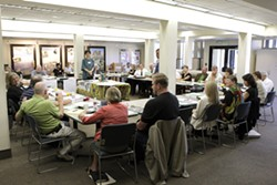 THE COUNCIL :  The Leadership Council has been working on SLO County's plan to end homelessness since January with the help of HomeBase, which was paid nearly $100,000 for its services. - PHOTO BY STEVE E. MILLER