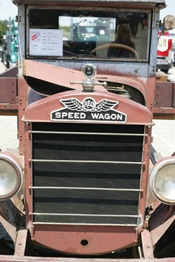 HI-INFIDELITY!:  REO Speed Wagon gave R.E.O. Speedwagon its name. Cool! And so is this 1928 REO owned by Jon Negranti of Cayucos. - PHOTO BY GLEN STARKEY