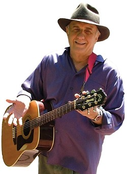 BRING THE KIDS! :  Ivan Ulz, a 25-year veteran of the children's music scene, performs at the Atascadero Library on Aug. 27. - PHOTO COURTESY OF IVAN ULZ