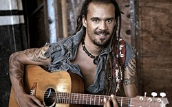 STAY POSITIVE :  Michael Franti will spread his good vibes at the inaugural Food Truck Festival on Aug. 14 at Avila Beach Resort. - PHOTO COURTESY OF MICHAEL FRANTI