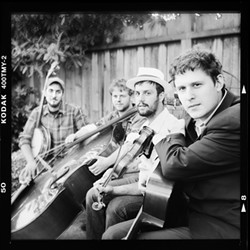 BACKPORCH BUBBAS :  See the Water Tower Bucket Boys play The Spot on Feb. 6. - PHOTO COURTESY OF THE WATER TOWER BUCKET BOYS