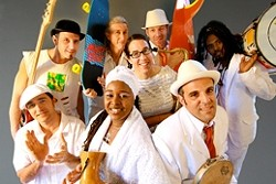 PHAT TUESDAY :  Mardi Gras lives on Feb. 16 when Brazilian transplant band SambaDa plays Downtown Brew. - PHOTO COURTESY OF SAMBADA