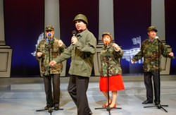 DISARMING FORCES :  Political satirists The Capital Steps will have you in stitches when they perform in the Performing Arts Center's Cohan Center on May 5. - PHOTO COURTESY OF THE CAPITAL STEPS