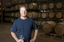 """SOUR GUY"":  Firestone brewer Jim Crooks operates Barrelworks, the company's sour beer venture. - PHOTOS BY STEVE E. MILLER"