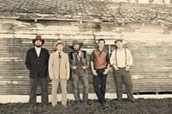 RED DIRT HEROES:  Americana act the Turnpike Troubadours play SLO Brew on Aug. 3. - PHOTO COURTESY OF TURNPIKE TROUBADOURS