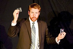 FIRST PERSON:  Ben Abbott (pictured) plays himself alongside five other people in this one-hour show. - PHOTO BY JASON BECHTEL
