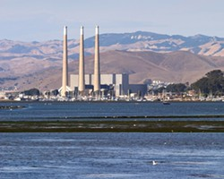 STACKS COMING DOWN? :  City officials say the Morro Bay power plant is likely headed for a permanent closure within three to seven years. - PHOTO BY STEVE E. MILLER