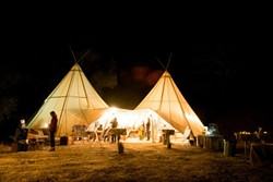 THE JOYS OF NATURE:  Under Canvas Events offers customers the opportunity to enjoy the great outdoors, with all the comforts of home. - PHOTO COURTESY OF UNDER CANVAS EVENTS