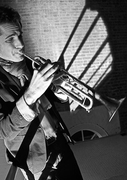 JAZZ HEROES :  Trumpeter Dominick Farinacii (pictured) will join vocalist Inga Swearingen and vibraphonist Christian Tamburr at Cuesta College for an Aug. 12 concert. - PHOTO COURTESY OF DOMINICK FARINACII