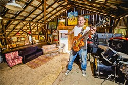 ROCKIN' THE FREE WORLD:  SLO Tracks founder Vincent Bernardy. - PHOTO BY HENRY BRUINGTON
