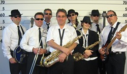 HOT HORNS :  The Usual Suspects will deliver a late afternoon concert of oldies on July 31 at the City Park in downtown Paso Robles. - PHOTO COURTESY OF THE USUAL SUSPECTS