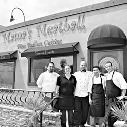 THE CREW :  Pictured are (left to right) Miguel Angel Hernandez, Julie Woosley, Nicola Allegretta, Jose Martinez Rosa, and Luca Allegretta. - PHOTO BY STEVE E. MILLER