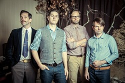 CREATIVE AS EVER:  Three-time Grammy winners Jars of Clay come from Nashville to SLO Brew on Sept. 20. - PHOTO BY DAVID BRAUD
