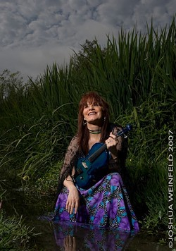 SWAMP WOMAN :  Get your Cajun and Zydeco fix at the Clark Center when Lisa Haley and the Zydekats play the Clark Center on April 9. - PHOTO BY JOSHUA WEINFELD