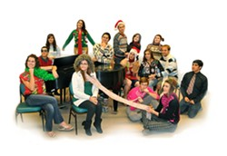 THE HOLIDAYS TAKE 2 :  On Dec. 2, Cal Poly's Take It SLO presents an a cappella holiday concert in Room 218 of the Davidson Music Center on campus. - PHOTO COURTESY OF CAL POLY MUSIC DEPARTMENT
