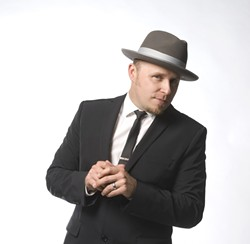 BLUES DUDE!:  Up-and-coming blues singer, harmonica player, and songwriter John Németh (pictured) will be joined by Junior Watson on March 8 at the SLO Vets Hall. - PHOTO COURTESY OF JOHN NEMETH