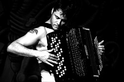 ETHEREAL HAMMER :  Check out the haunting sounds of Mark Growden on Oct. 28 at the Steynberg Gallery. - PHOTO COURTESY OF MARK GROWDEN