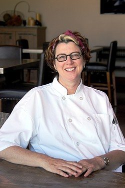 POP IN FOR A BITE:  Niner Winery Executive Chef Maegan Loring is cooking up creative, garden-fresh grub during the winery's popular Sunday pop-up suppers continuing through this summer and fall. - PHOTO COURTESY OF NINER WINERY