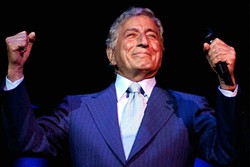 CLASS ACT:  Tony Bennett plays Vina Robles Amphitheatre on Aug. 10. - PHOTO COURTESY OF TONY BENNETT