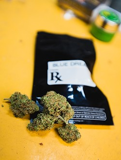 IT'S MEDICINAL, MAN!:  Medical marijuana has a long and sordid history in San Luis Obispo County. Cities have banned the brick-and-mortar, store-front dispensaries, leaving only one other choice to procure that medicine—mobile medical marijuana dispensaries. San Luis Obispo tried to ban those, too, but it didn't work. A brick-and-mortar dispensary proposed for Nipomo will go before the SLO County Board of Supervisors in October. - FILE PHOTO BY KAORI FUNAHASHI