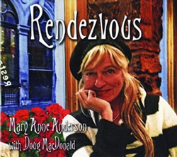 THE CHARMER!:  Mary Anne Anderson will release her terrific new jazz and French chansons album Rendezvous on Feb. 28 at Painted Sky Studios in Harmony. - IMAGE COURTESY OF MARY ANNE ANDERSON
