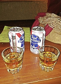CUPS OF GOOD CHEER:  A post parade drink at McCarthy's is usually the capper to a great community event. - FILE PHOTO BY GLEN STARKEY