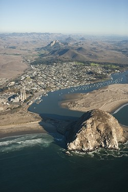 EXIT STRATEGY :  If the Morro Bay Power Plant does, indeed, shut down, there's been no plan announced as to how it will happen. And the estimated bill could hit as high as $150 million. - PHOTO BY STEVE E. MILLER