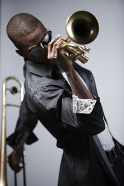 BLANKET:  New Orleans legend-in-the-making Trombone Shorty also plays May 25 at the Avila Blues Fest. - PHOTO BY KIRK EDWARDS