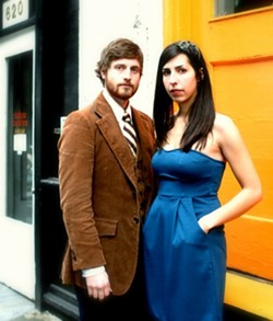 """TWO FOR THE ROAD :  Seattle's Ian McFeron and Alisa Milner play the Frog and Peach on June 22 at 8 p.m. during """"Pint Night."""" - PHOTO BY SARA WATSON"""