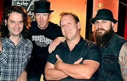 NOLA STYLE!:  New Orleans-based Cowboy Mouth brings their raucous live show to the Seven Sisters Fest (July 10 to 12) on July 10 at El Chorro Regional Park. - PHOTO COURTESY OF COWBOY MOUTH