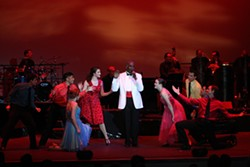 GOTTA SING, GOTTA DANCE :  A live orchestra, more than 20 dancers, and 10 singers will perform during Viva la Diva!, a musical review at the Clark Center running July 15 to 31. - PHOTO COURTESY OF VIVA LA DIVA!