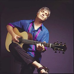 SOLO FLIGHT :  Former Wings guitarist Laurence Juber plays with his combo Guitar Noir on June 21 at Castoro Cellars Winery. - PHOTO COURTESY OF LAURENCE JUBER
