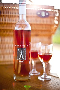 VERIS CELLARS WINERY NOVA VITA ROSE: - PHOTO COURTESY OF KAT BENT-SLAY