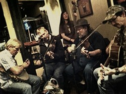 REGULARS :  The Old-Time Fiddle & Banjo Show plays every Wednesday at Pappy McGregor's in SLO and every Thursday at Pappy McGregor's in Paso. - PHOTO COURTESY OF THE OLD-TIME FIDDLE & BANJO SHOW